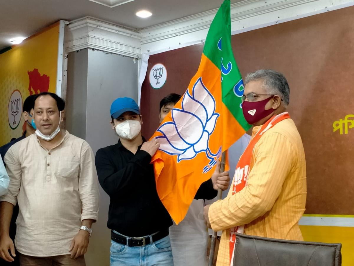 Asian Games gold medalist Pinki Pramanik joins BJP in Kolkata