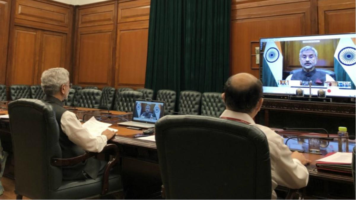 EAM Jaishankar participates in intra-Afghan negotiations