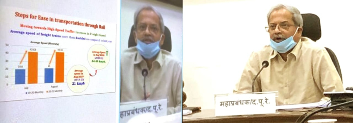 South Eastern Railway holds a virtual press conference