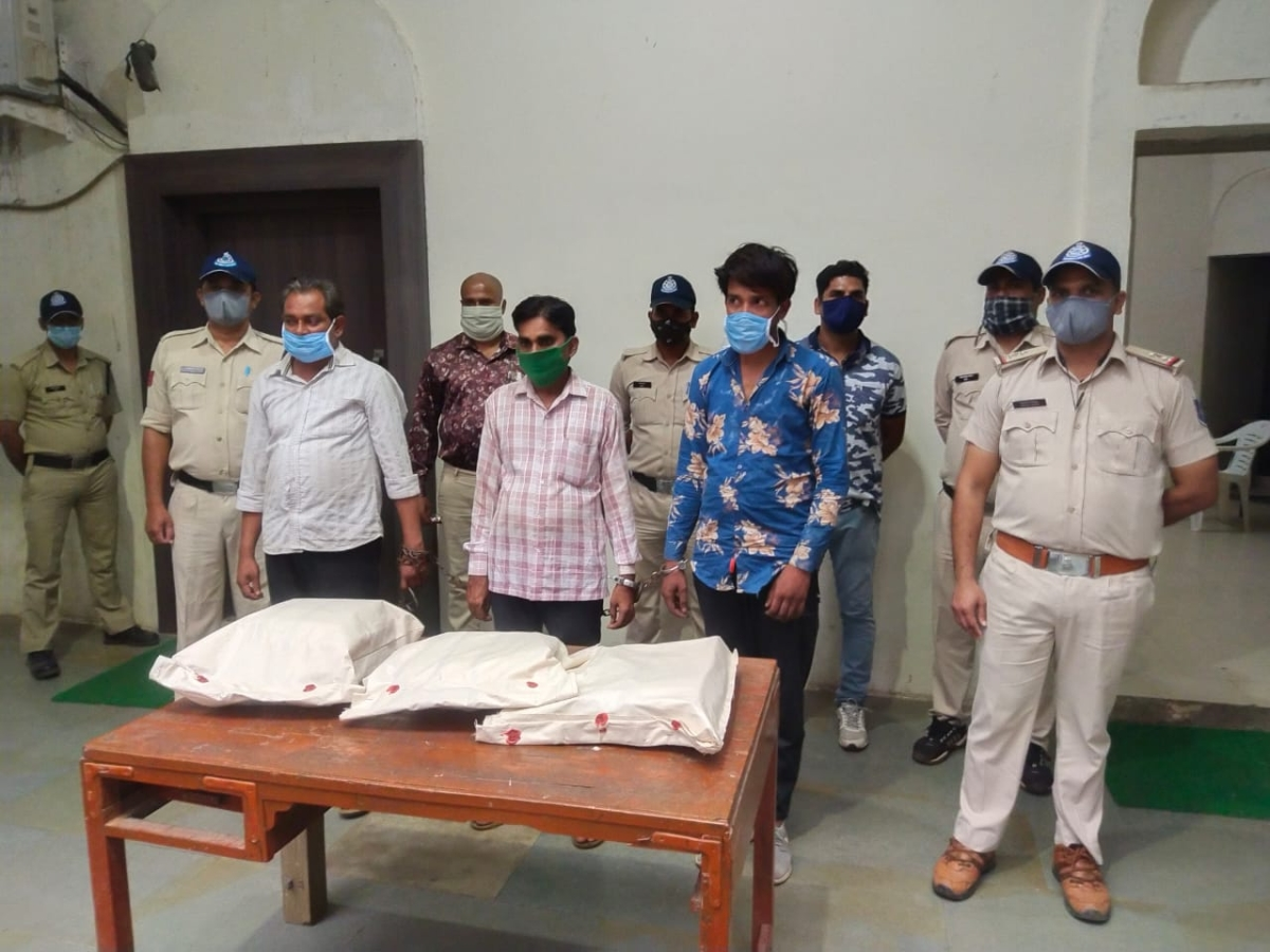 Indore: Three arrested with Alprazolam tablets worth Rs 3.5 lakh