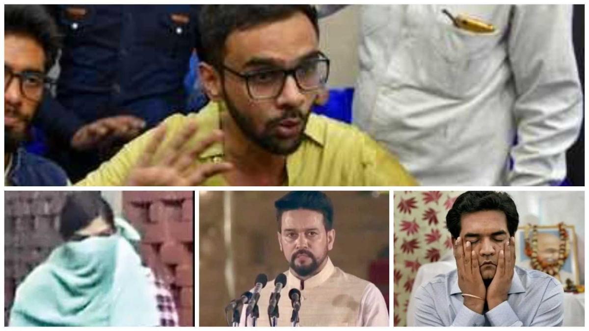 Umar Khalid arrested under UAPA: Twitter wonders why Delhi Police hasn't taken action against Anurag Thakur and Co