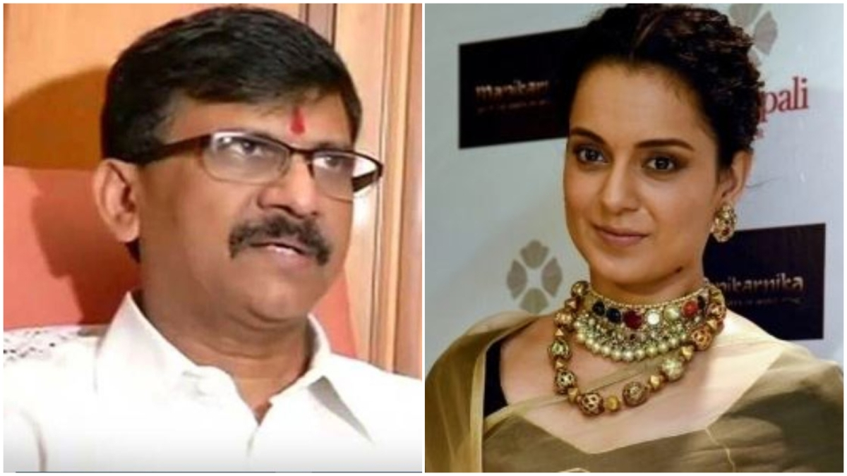 Why does Kangana have Y+ security when a 'gang-raped' woman has none, wonders Sanjay Raut