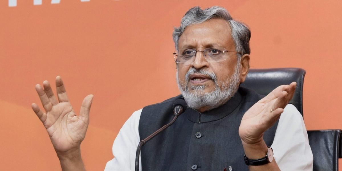 Sushil Kumar Modi nominated as BJP candidate for Rajya Sabha bypoll in Bihar