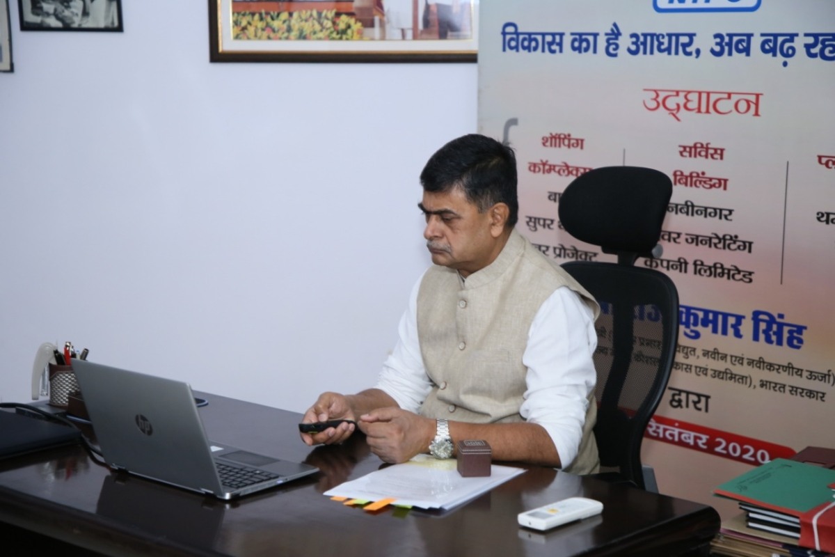 Govt plans to leverage power for cooking: Power Minister R K Singh