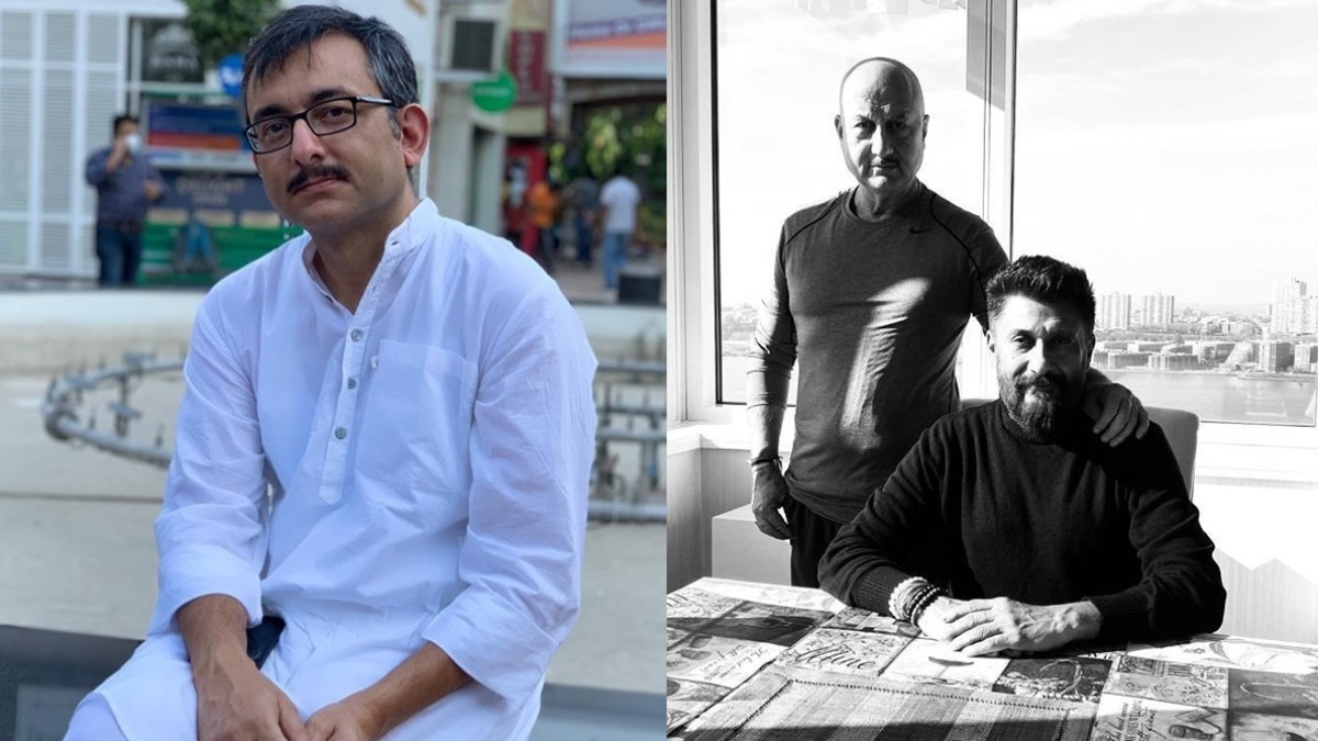 'Boss Sir not offering protection?': Rahul Pandita mocks Vivek Agnihotri over upcoming film 'The Kashmir Files'