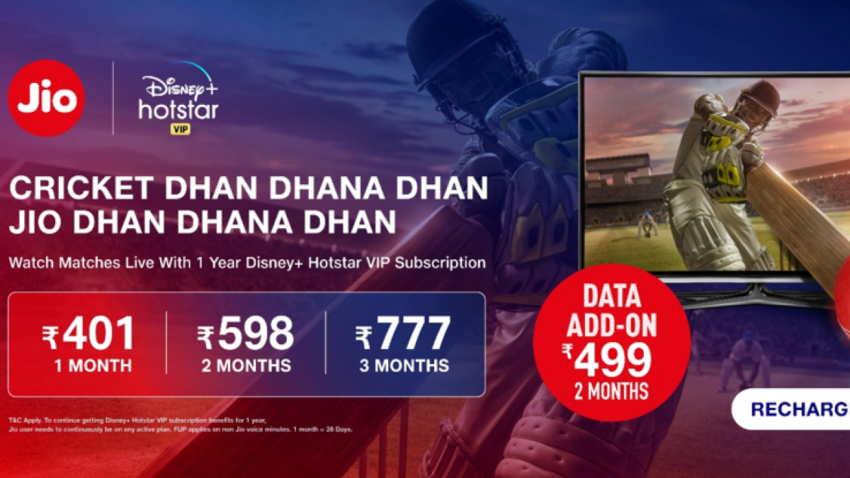 Jio launches 3GB Cricket Plans for IPL 2020 - all you need to know