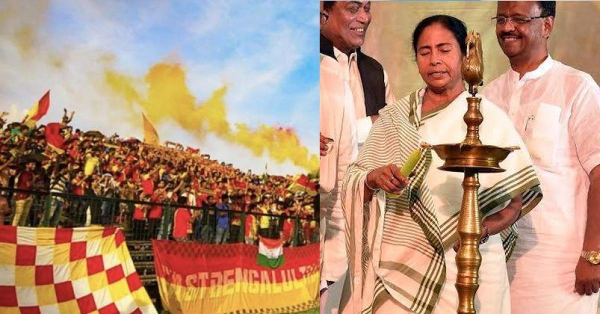 East Bengal (Facebook and Mamata)