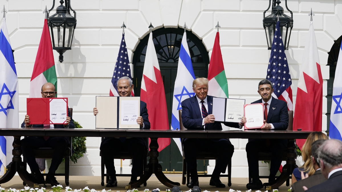 """Israel, UAE and Bahrain sign Abraham Accord; Donald Trump says """"dawn of new Middle East"""""""