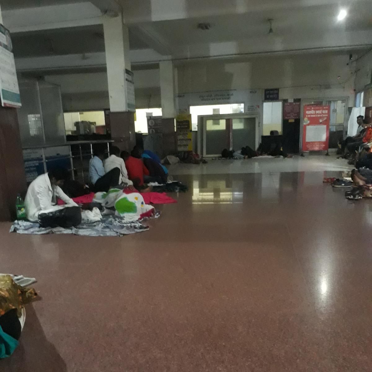 NEET 2020: Students, families sleep on floor amid Covid spread in Bhopal