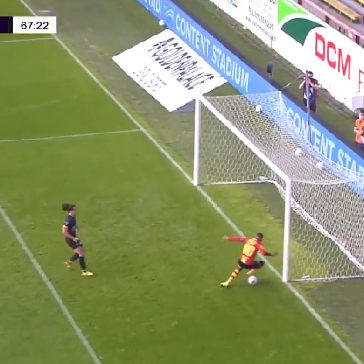 Watch: Belgian teenager's horrific blooper is the worst miss in football history