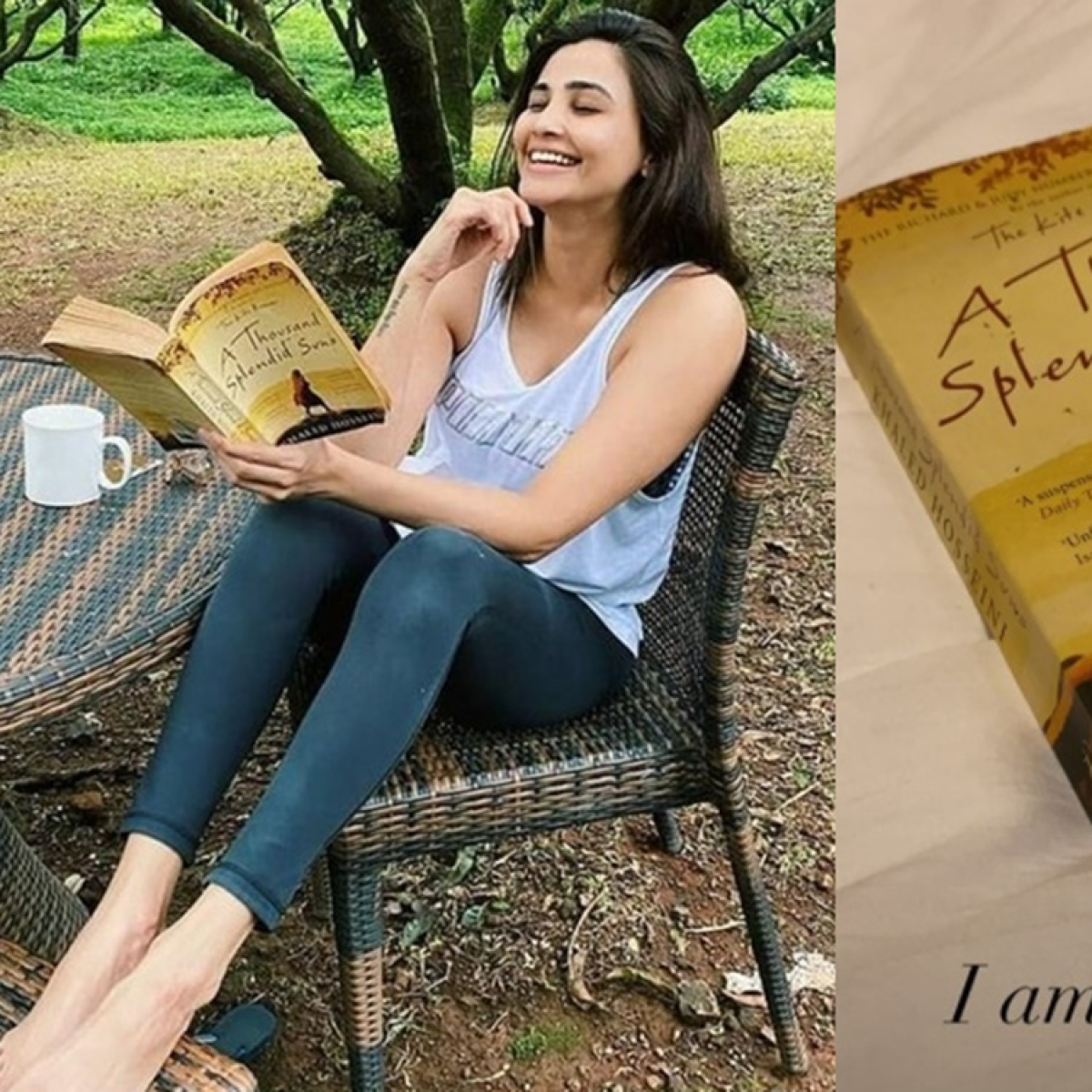 Daisy Shah apologises for sharing a smiling picture while reading a tragic novel