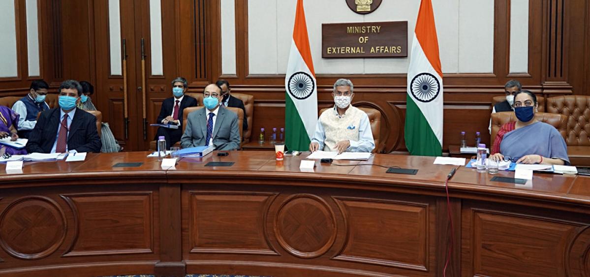 India highlights cross-border terrorism, blocking of connectivity at SAARC meet