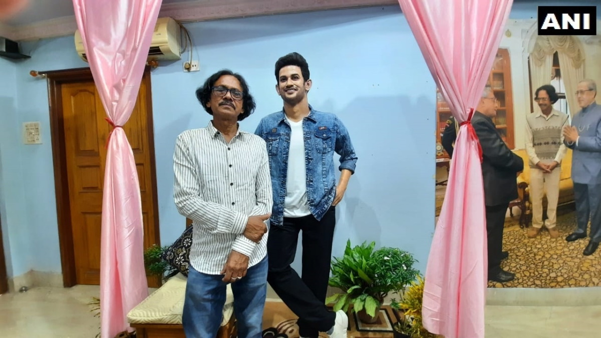 Asansol-based sculptor creates Sushant Singh Rajput's wax statue