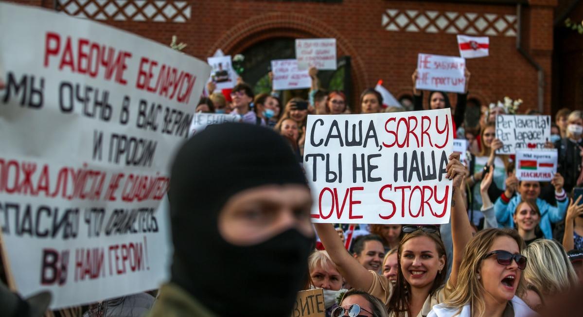 Protests underway across Belarus, 10 people already arrested in Minsk