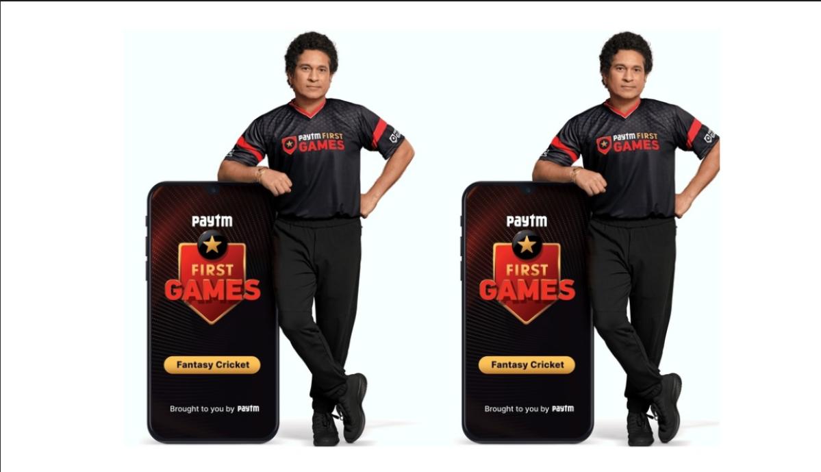 Paytm First Games announces sporting legend Sachin Tendulkar as brand ambassador