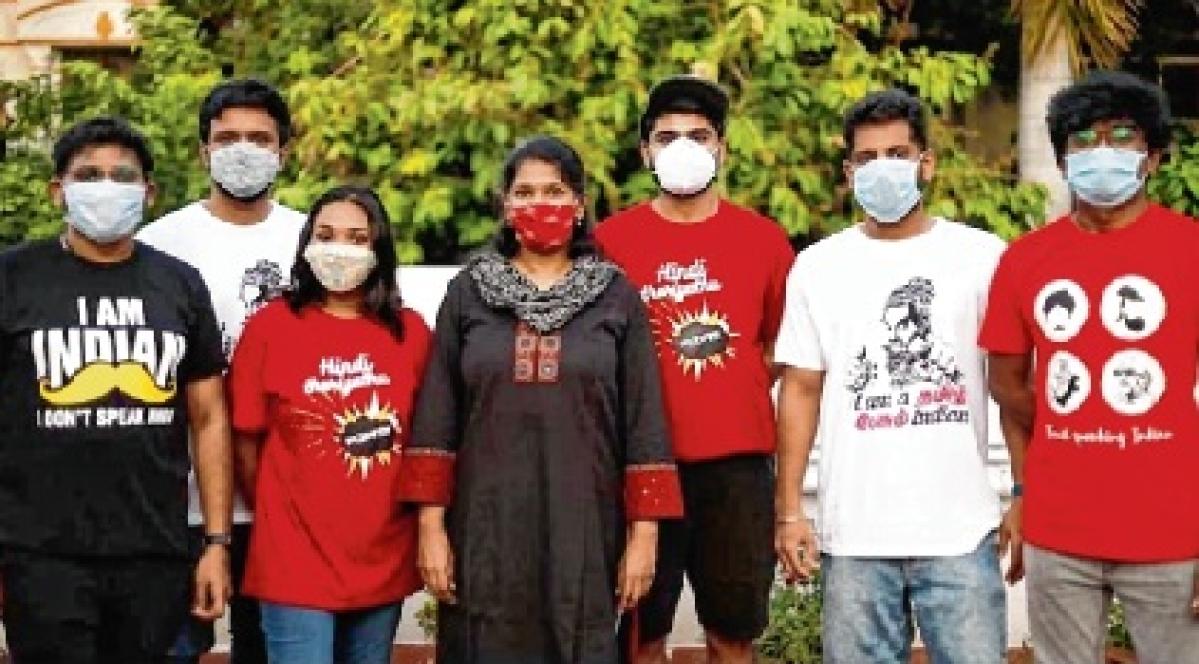 'Don't know Hindi, Go…' T-shirts trend in Tamil Nadu