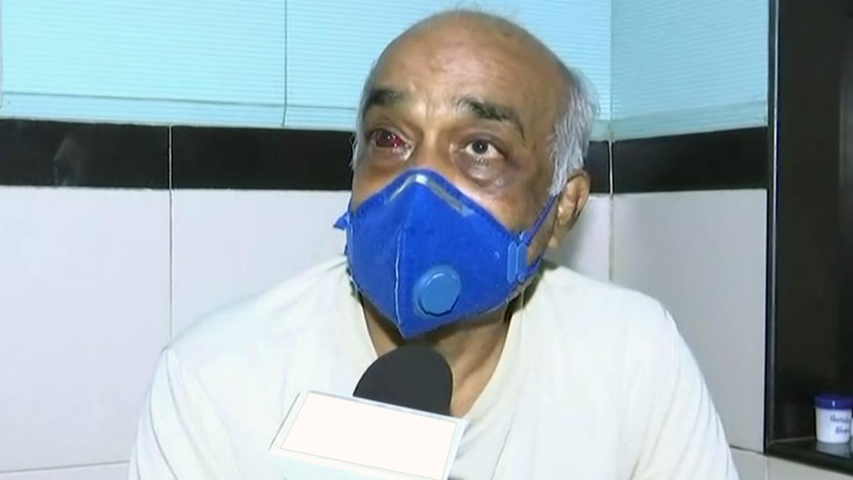 'Such attacks unacceptable, deplorable': Rajnath Singh calls up Navy veteran assaulted by Shiv Sainiks for sharing Uddhav cartoon