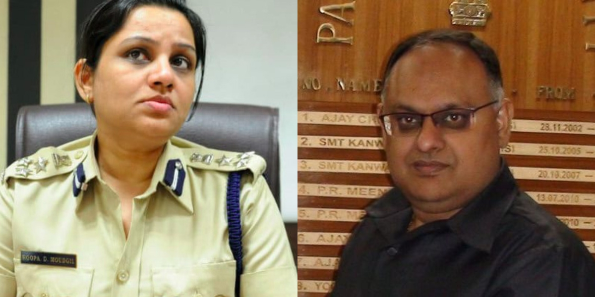 IPS officers D Roopa, Sandeep Mittal fume over not being followed by IPS Association on Twitter