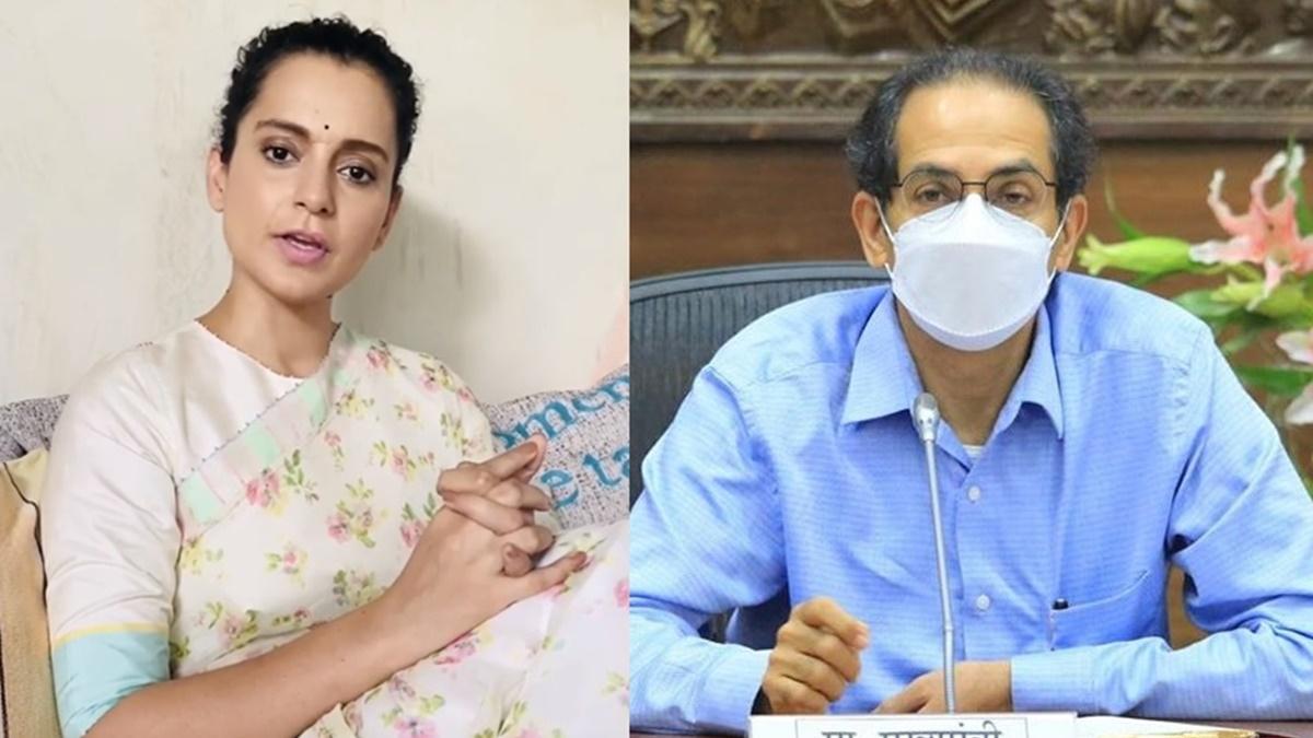 Complaint filed against Kangana Ranaut for referring to Maha CM Uddhav Thackeray as 'Tu' in latest video