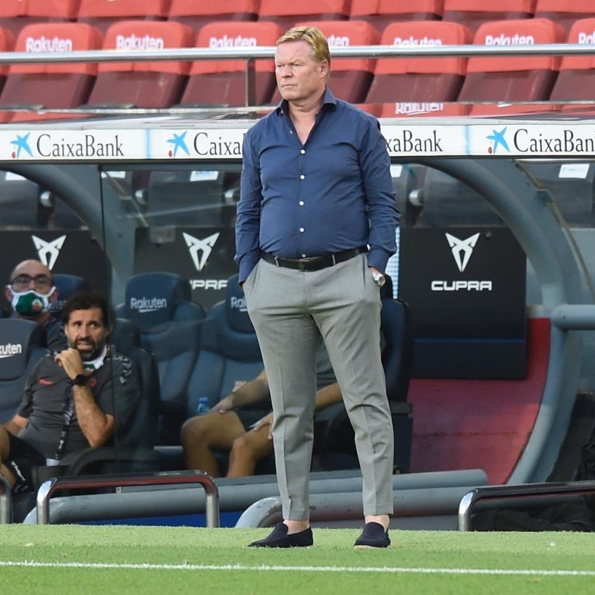 'Very difficult' for Barcelona to win La Liga, admits Ronald Koeman after 1-1 draw against Eibar