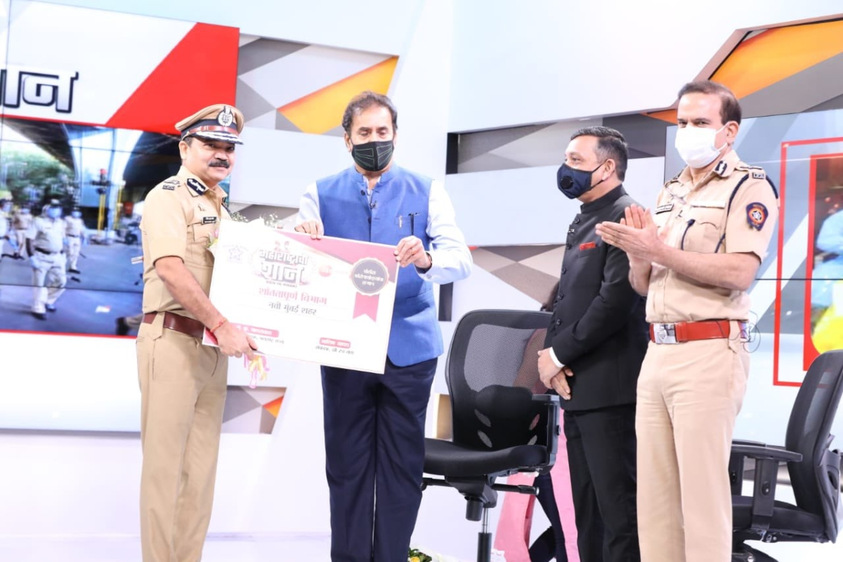 Navi Mumbai adjudged as 'Most Peaceful City' in Maharashtra during COVID-19
