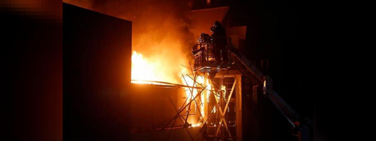 Mumbai: Fire at Janata Market in Chembur, no casualties