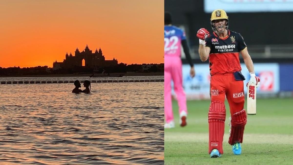 AB de Villiers clicks Virat and Anushka's exquisite sunset picture; Twitter says 'photographer is excellent in whatever job he takes up'