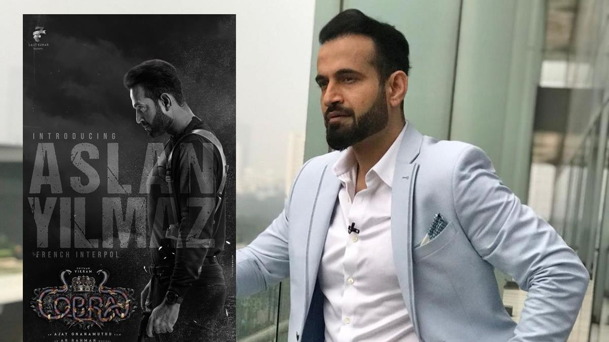 Makers of supernatural thriller 'Cobra' unveil first look of Irfan Pathan as Aslan Yilmaz