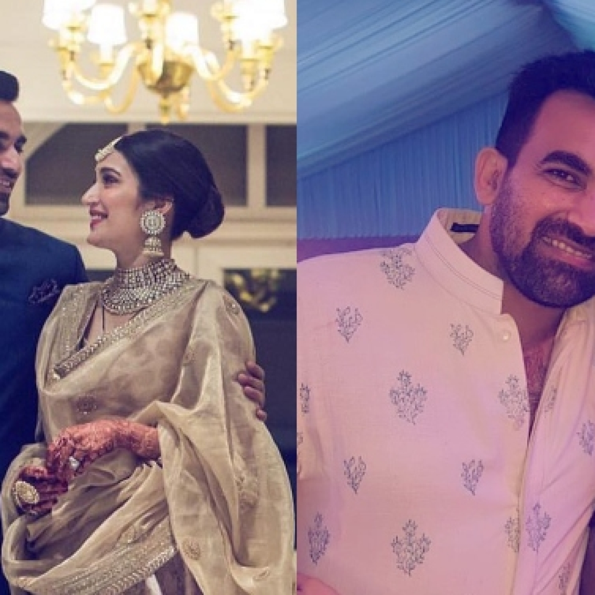 Zaheer Khan birthday special: Former Indian cricketer's pics with wife Sagarika Ghatge are too cute to handle