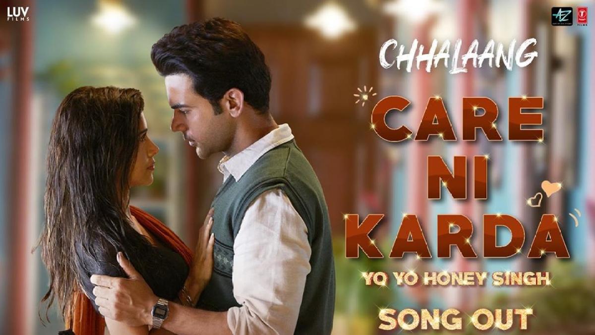 Watch: Rajkummar Rao, Nushrratt Bharuccha's chemistry in 'Chhalaang' song 'Care Ni Karda' is unmissable