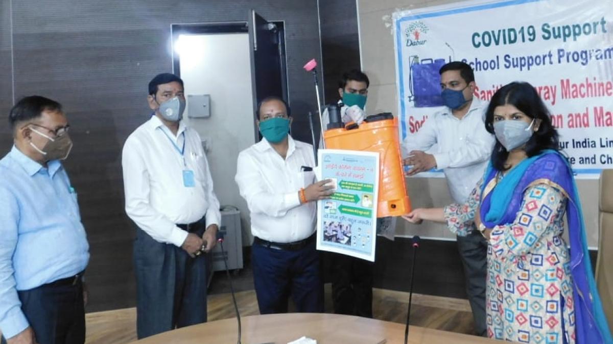 Dabur helps make 15 government schools in Uttarakhand Covid-safe
