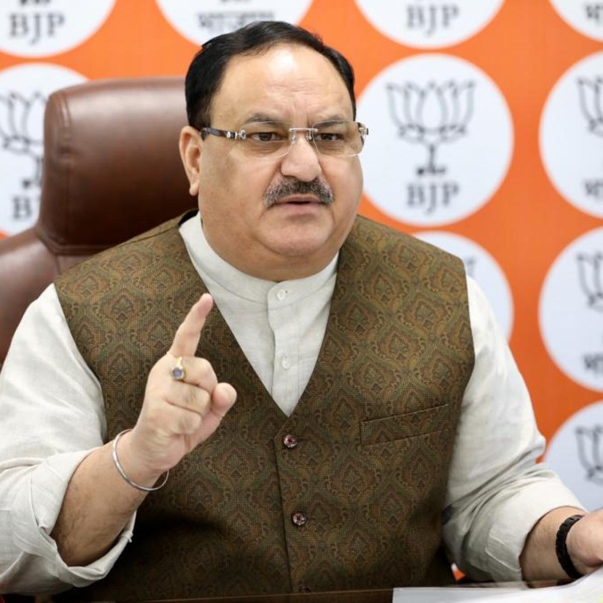 BJP Prez JP Nadda meets Rajasthan leaders; Vasundhara Raje's absence fuels speculation