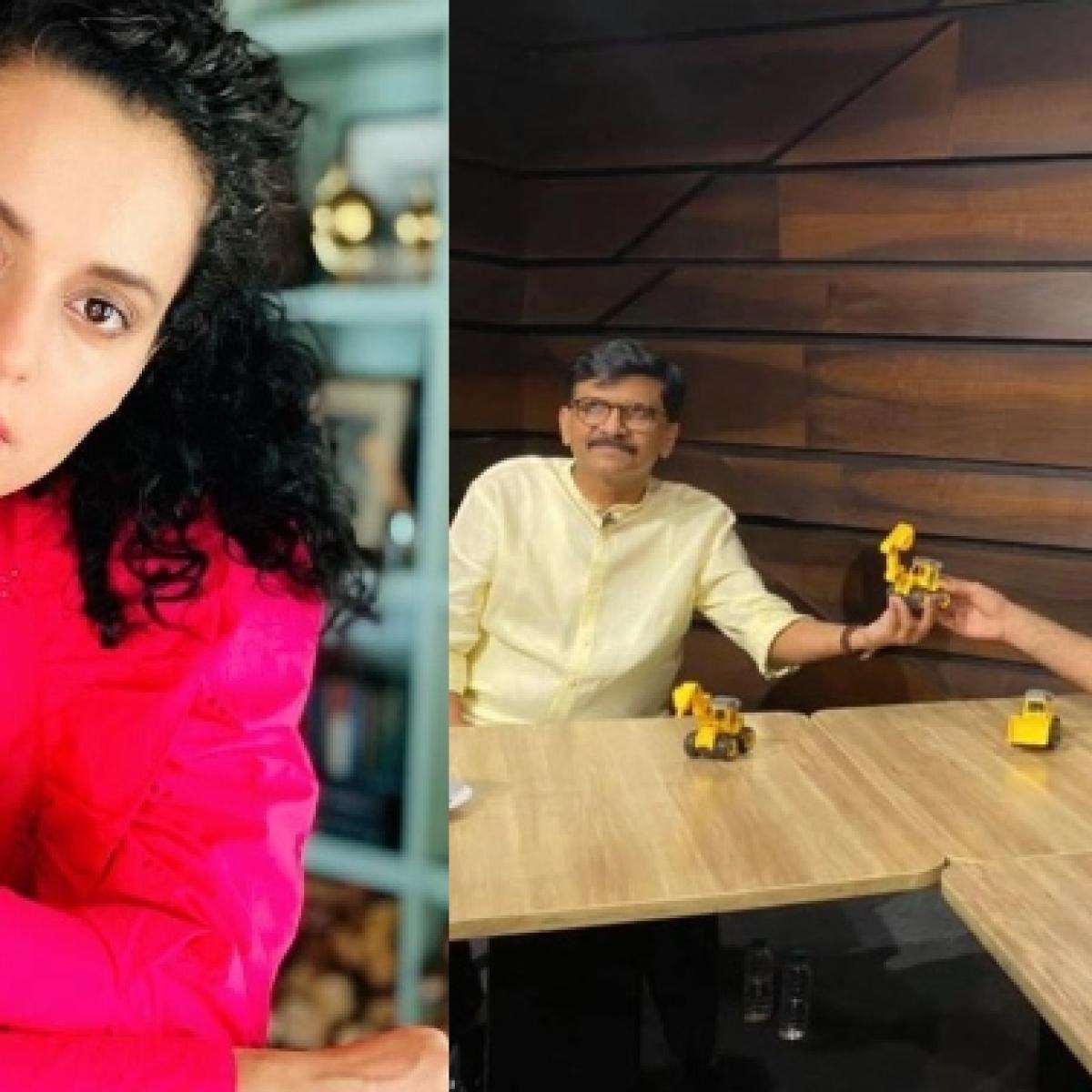 Kangana uses Kunal Kamra, Sanjay Raut's 'Shut up Kunal' to mock Maha govt over Mumbai Power Cut