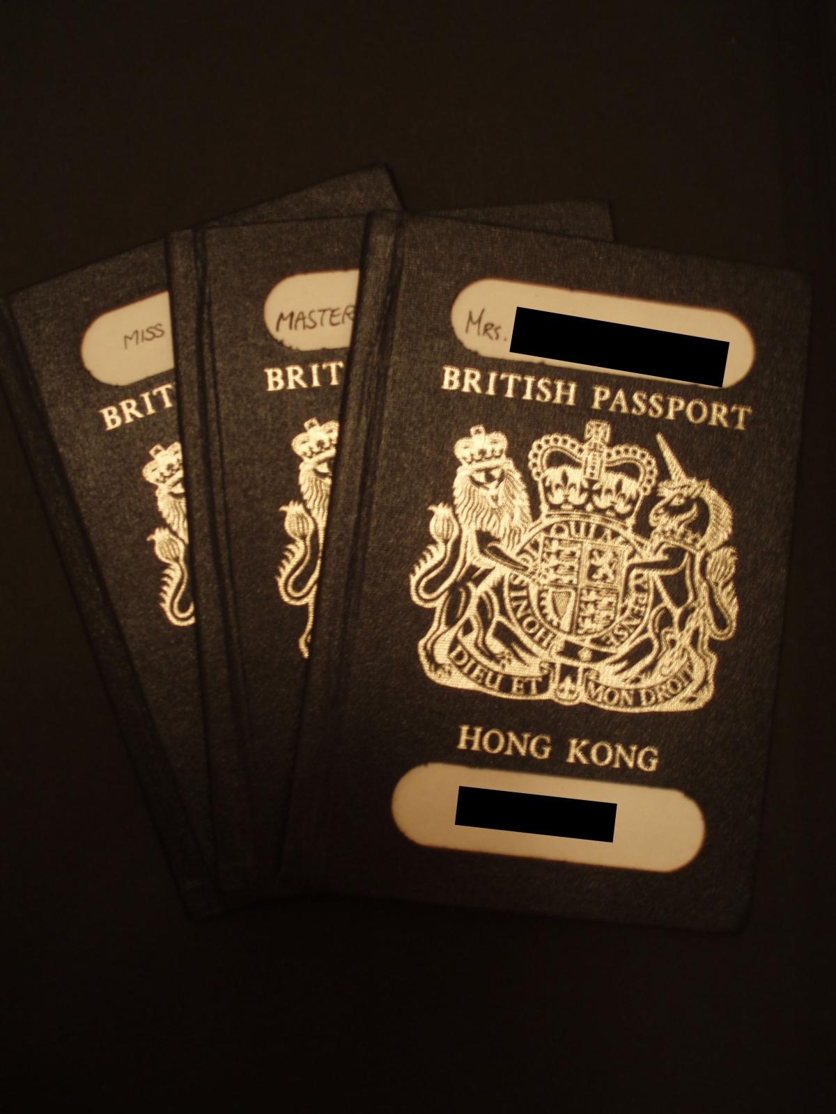 China won't consider UK-issued Hong Kong passports