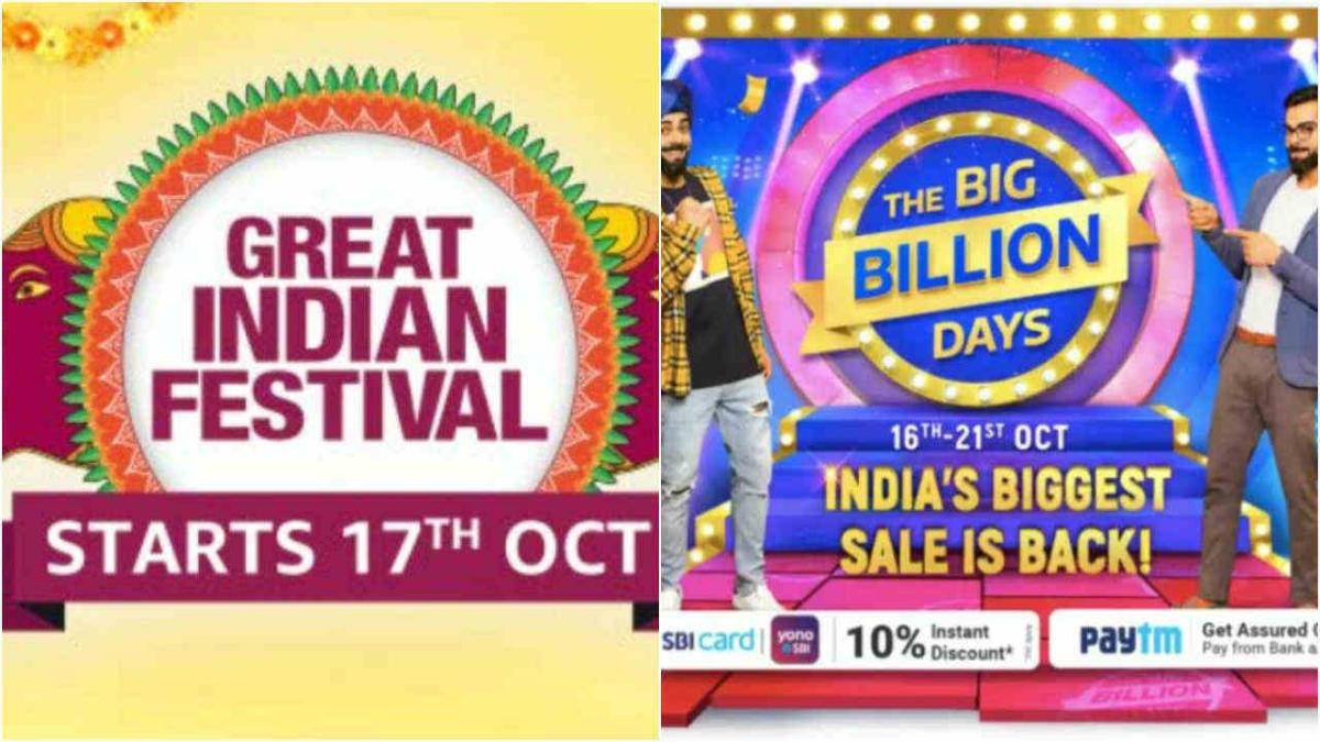 Amazon Great Indian Festival and Flipkart Big Billion Days sale