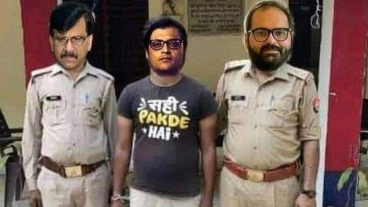 TRP Scam: Kunal Kamra shares meme featuring 'criminal' Arnab Goswami, 'hawaldar' Sanjay Raut