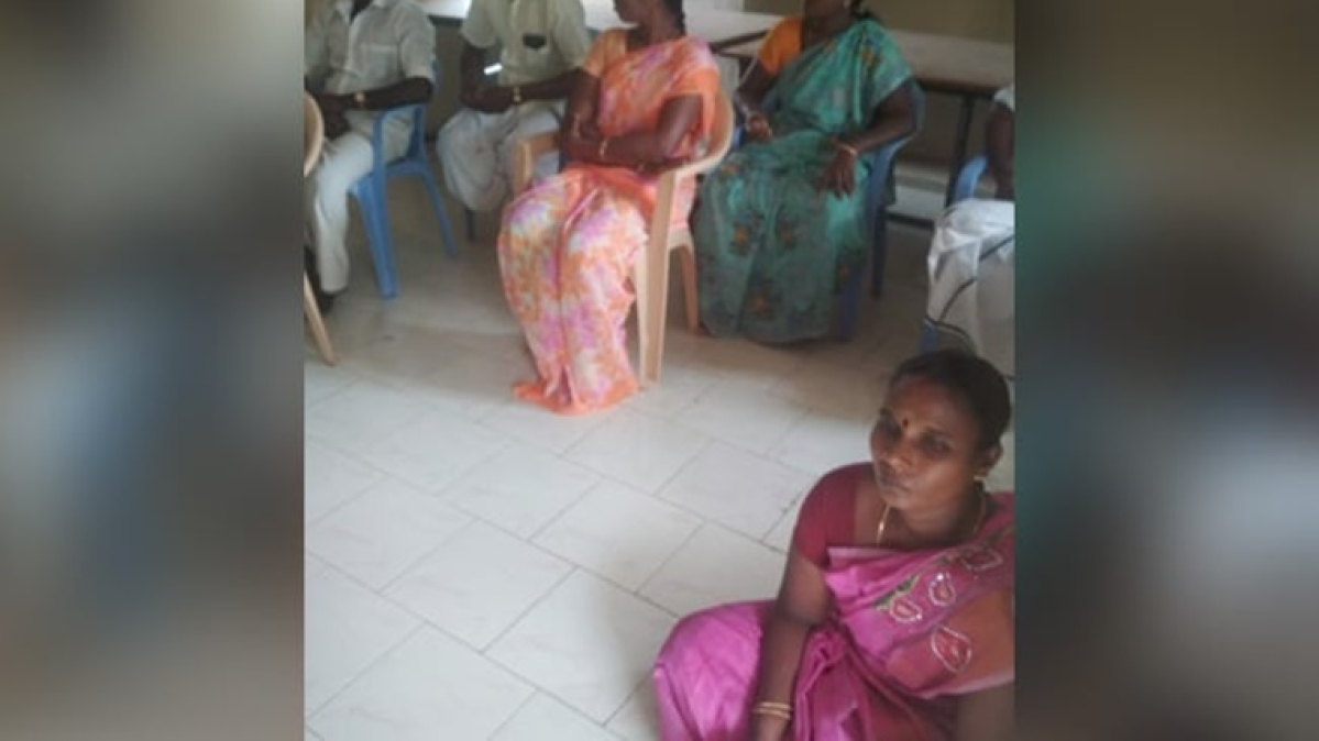 'Shameful and pathetic': Twitter after Dalit woman panchayat chief forced to sit on floor in Tamil Nadu