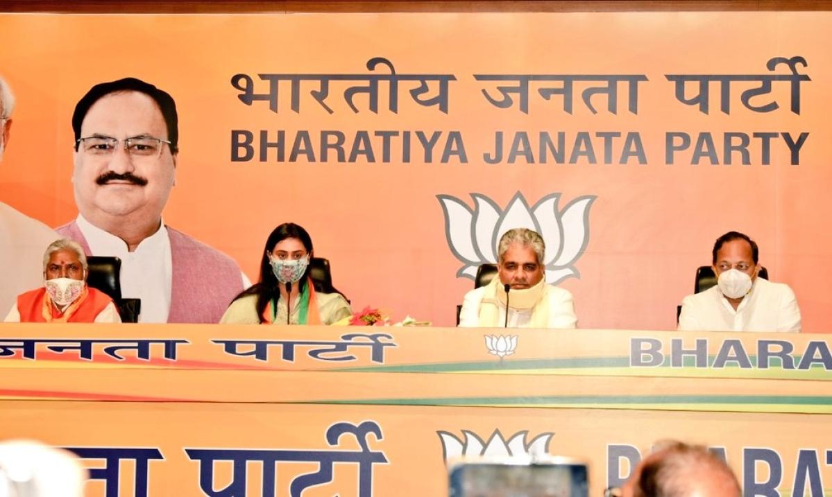 Bihar Polls 2020: Arjuna awardee Shreyasi Singh joins BJP