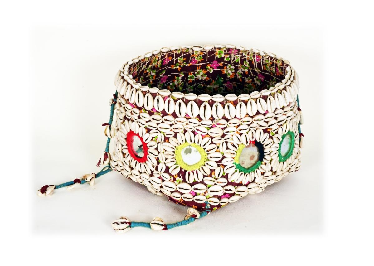 Gafli- A decorated ceremonial basket from Muria community of Bastar, Chhattisgarh