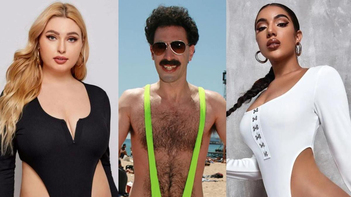 Shopping app Shein brutally trolled for selling 'bodysuit' that resembles 'Borat's mankini'