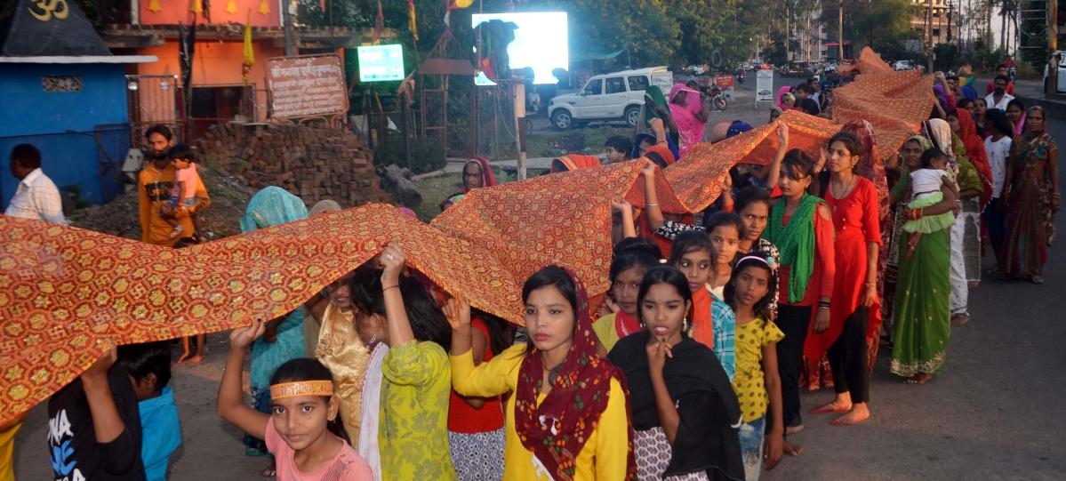 Bhopal: Despite ban, chunari yatra taken out, administration shifts onus on police