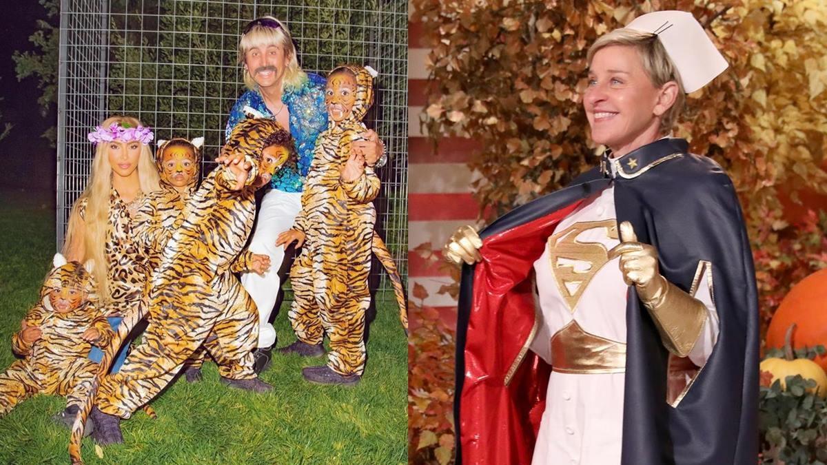 Halloween 2020 Celebrity Costume Ideas: From Kim Kardashian to Ellen DeGeneres- who wore what