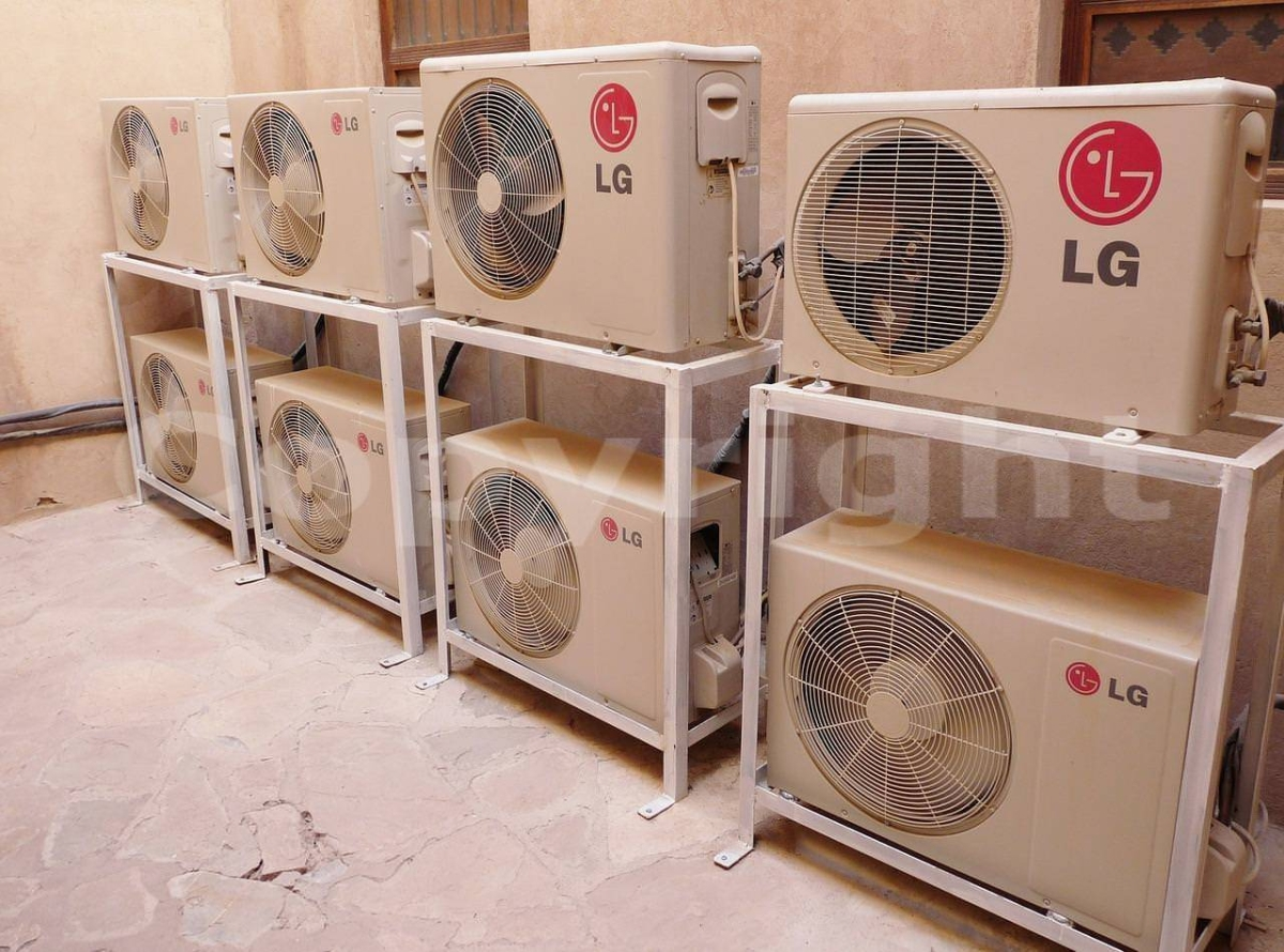 Two held for selling assembled ACs as branded products