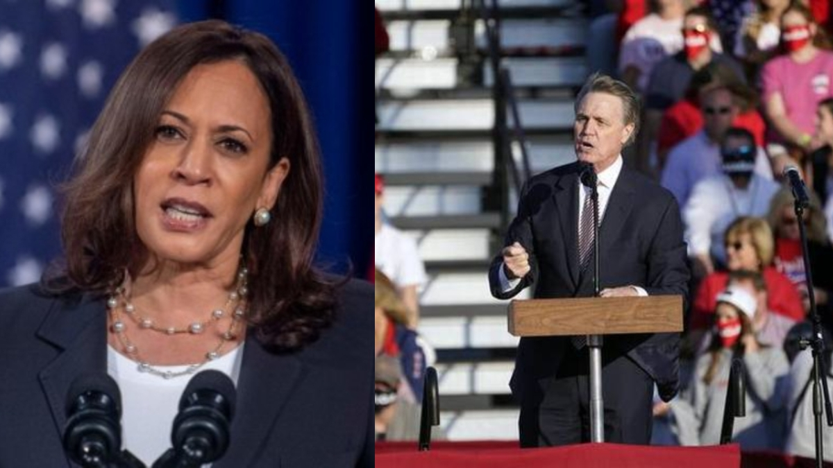 'Kama-ma-lala or whatever': Republican senator mocks Kamala Harris' name at Trump rally, Twitterati call out 'cheap race-baiting'