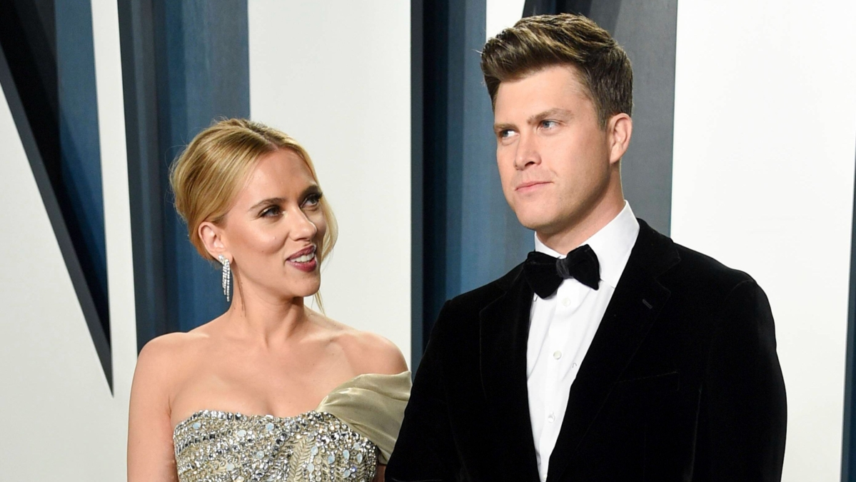 Scarlett Johansson and Colin Jost are officially married