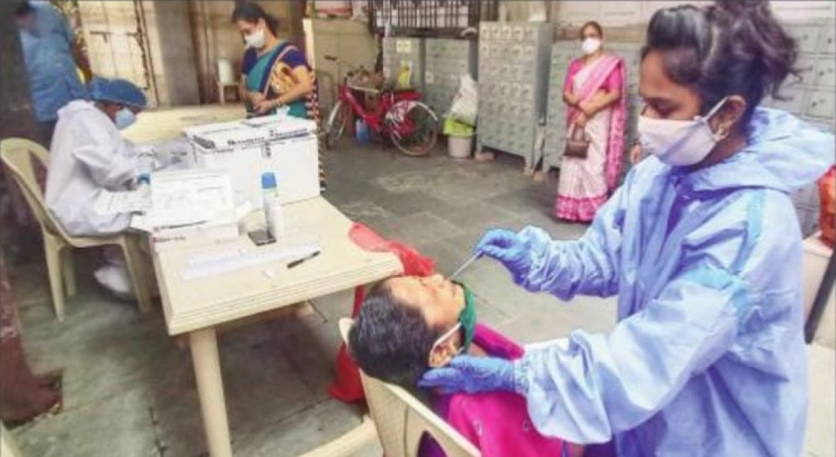 Mumbai: While cases fall in Mumbai, two wards comprise 17% of total active cases