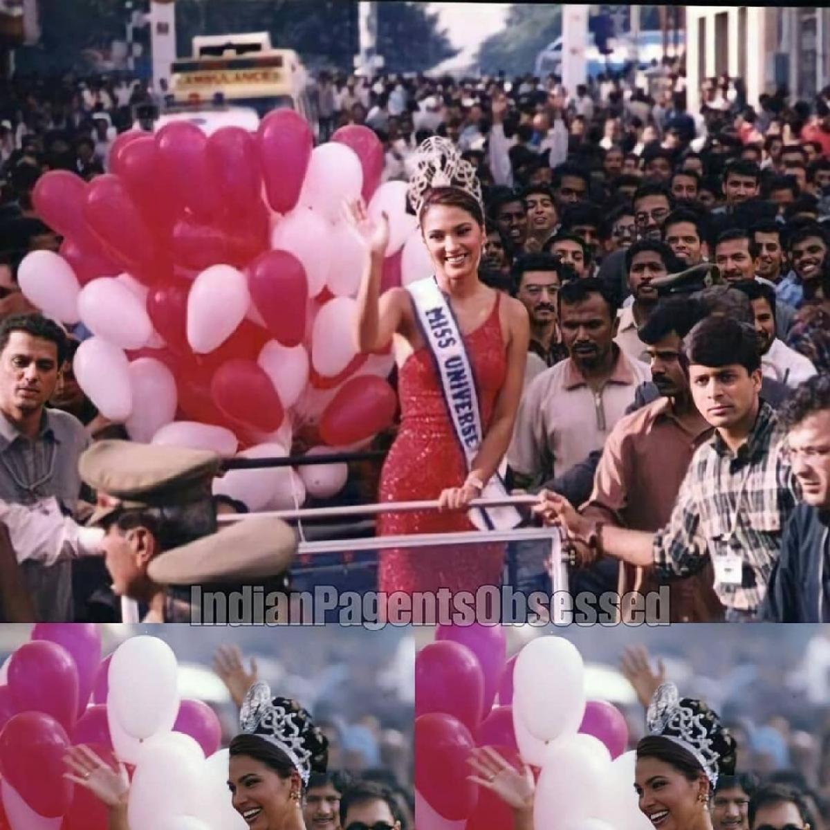 Lara Dutta walks down the memory lane, remembers being crowned Miss Universe 2000