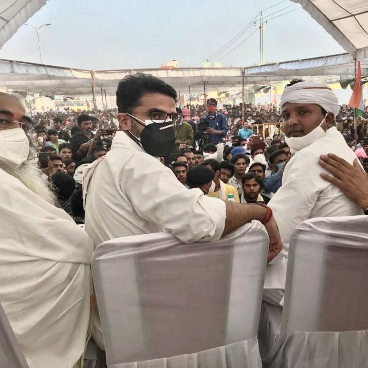 MP Bypolls: Sachin Pilot attacks BJP without mentioning Jyotiraditya Scindia