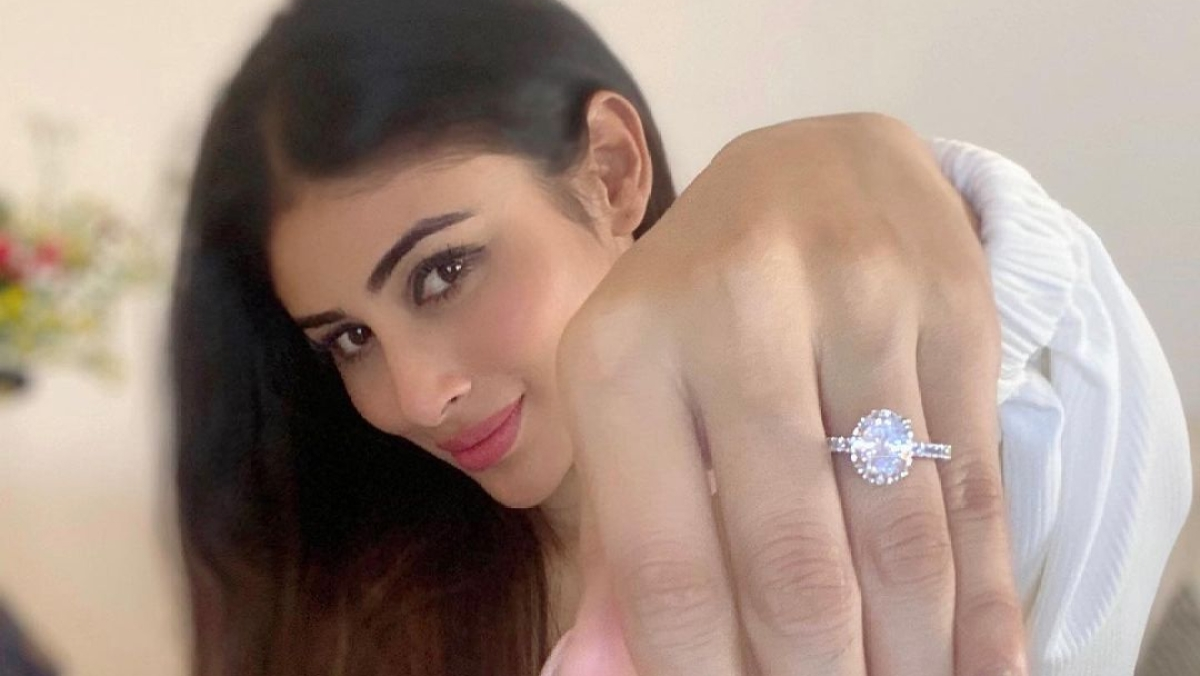 OMG: Mouni Roy fuels engagement rumours as she flaunts a big diamond studded ring on Instagram