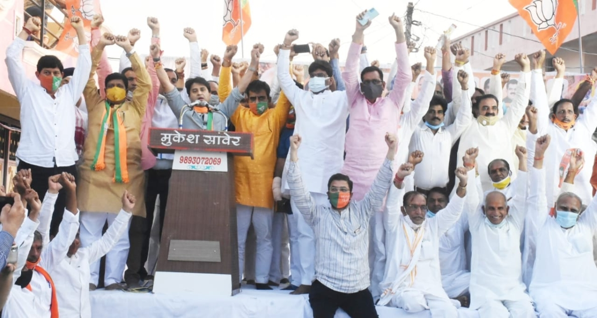 MP by-elections is a fight between two 'jodis': Jyotiraditya Scindia